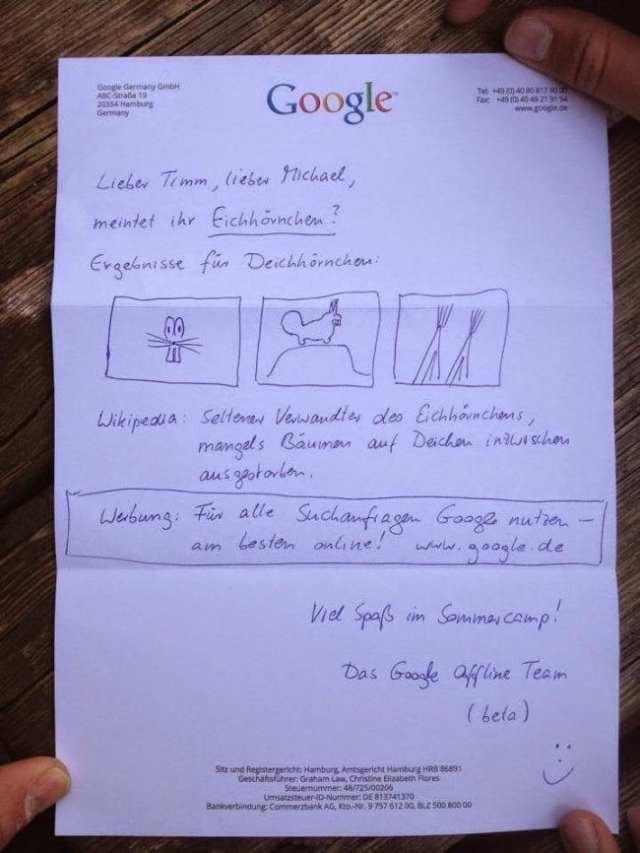 Sevgili Timm ve Michael,  Araştırmaya ve öğrenmeye merakınız için teşekkür ederiz. Bunu mu demek istediniz? (Eichhörnchen) Sincap.  Vikipedia: Yaşam alanı yetersizliği sebebiyle nesli tükenmiş olan bir kara sincabıdır.  Reklamlar: Eğer bir sorunuz olursa Google'a sorun. Tercihen Online olarak…  Umarız yaz kampınız eğlenceli geçiriyordur.  Google çevrimdışı takımı  (BETA versiyon)