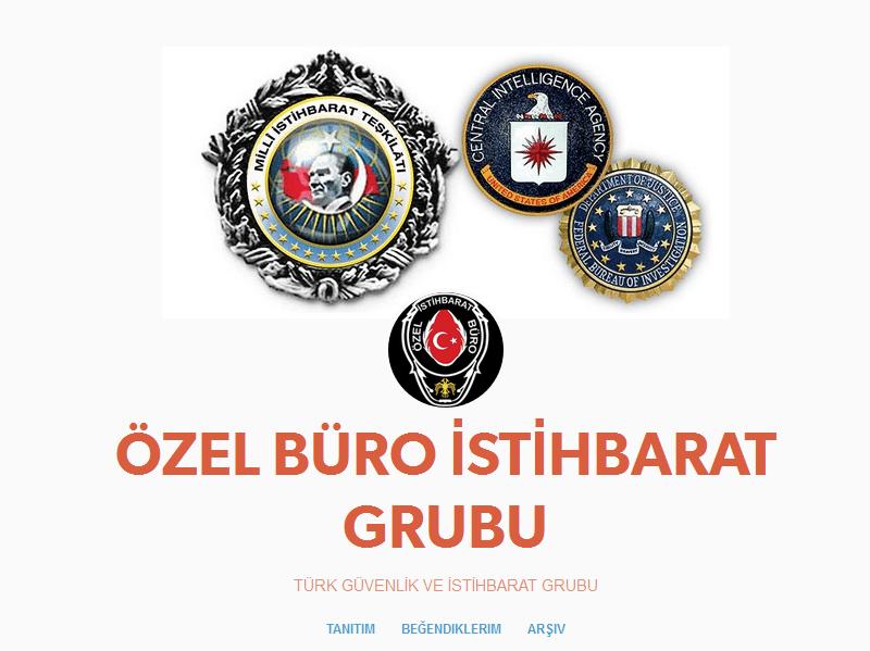 Duyuru Ozel Buro Istihbarat Grubu Yeni Blogu Http Ozel Buro