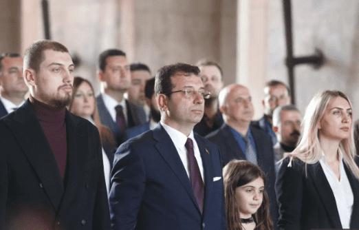 Ekrem İmamoğlu istanbul büyükşehir belediye başkanı seçildikten sonra Ata'yı ziyaret etti , Anıtkabir, Ankara