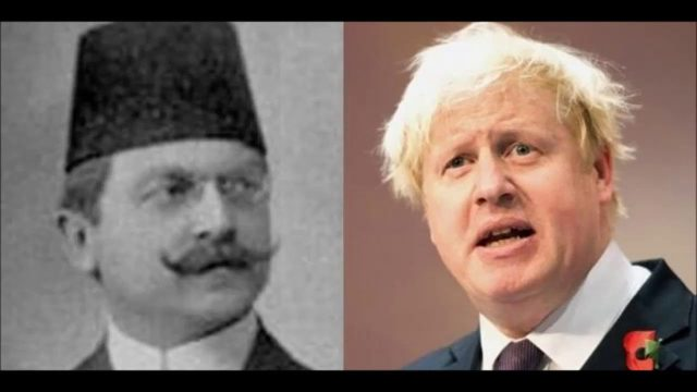 Ali Kemal (İngiliz Kemal) ve torunu Boris Johnson