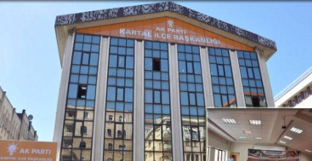 AKP Kartal ilçe binası