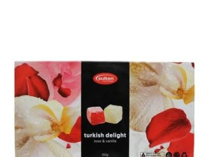 Turkish Delight rose-vanilla