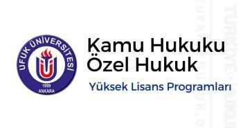 Ufuk Üniversitesi Hukuk Yüksek Lisans Şartları