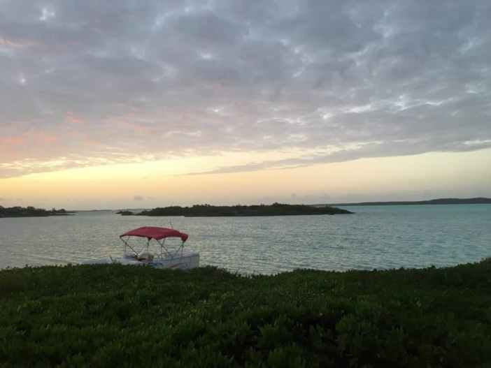 Boat and water By Las Brisas, Providenciales Turks and Caicos