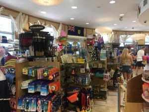 Souvenir shop in Provo, Turks and Caicos