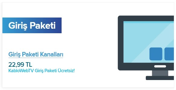 KabloTV Giriş Paketi