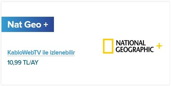 KabloTV Nat Geo+ Paketi