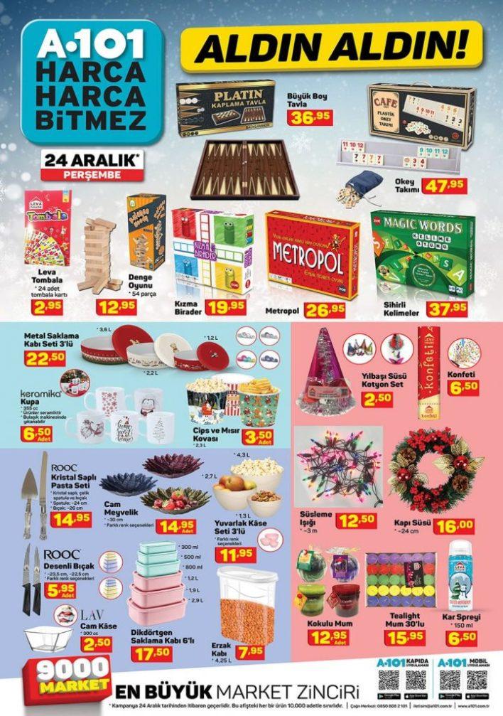 a101 market 24 aralik katalogu 720x1024 - لا تفوت عروض الـ a101 الرائعة والشاملة في يوم الخميس 24 كانون الأول 2020