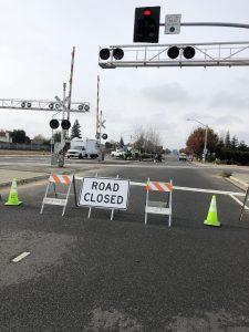 Road Closed Tuolumne