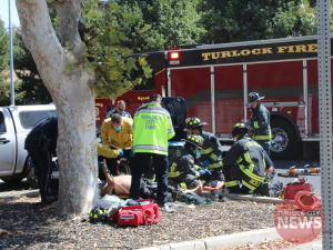 Two in Muscle Car Suffer Major Injuries After Crashing