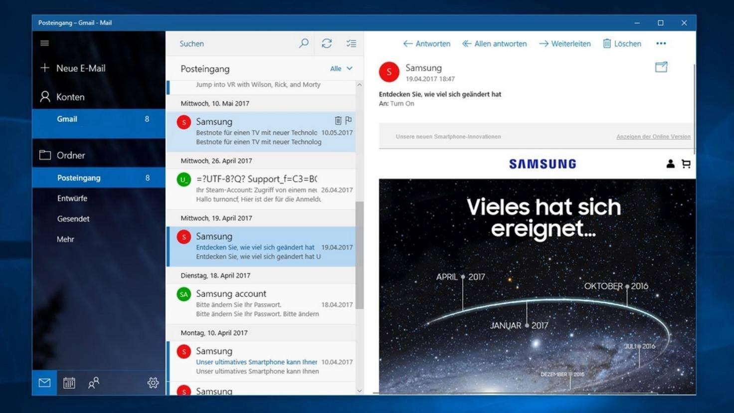 Windows 10 Das Sind Die 6 Besten E Mail Programme
