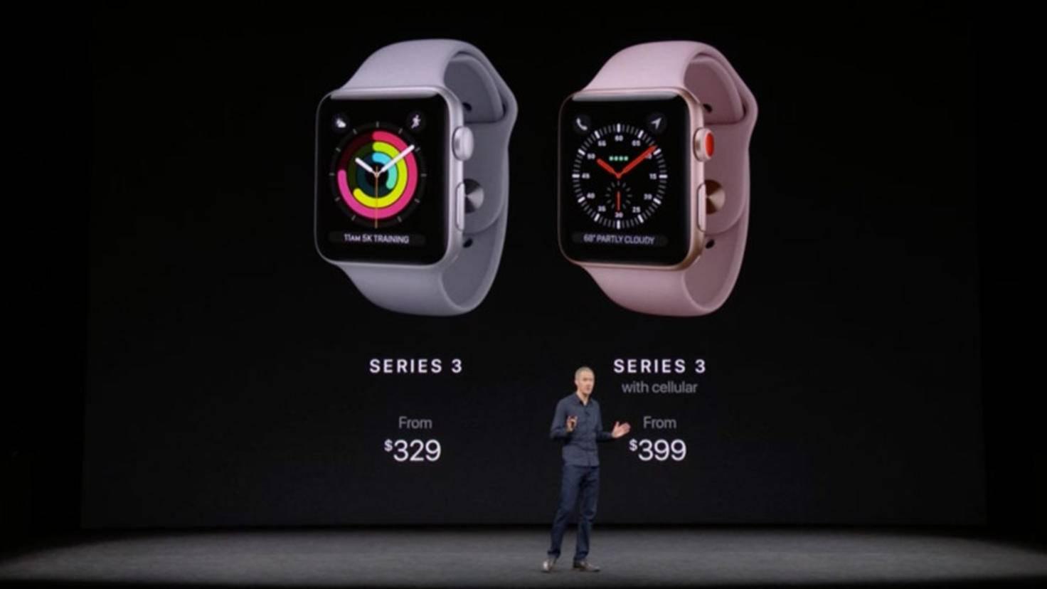 Apple Watch 3 Vs Apple Watch 2 Die Smartwatches Im Vergleich