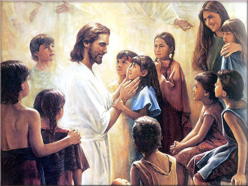 Image result for Jesus blesses the children pictures