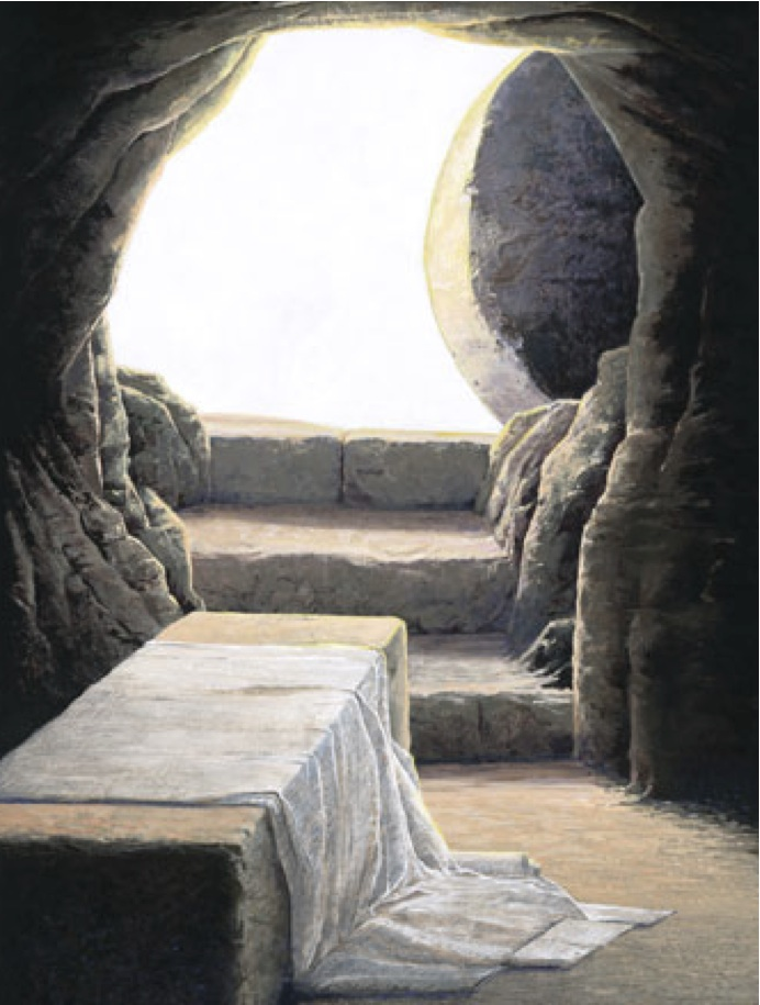 Image result for image of empty tomb