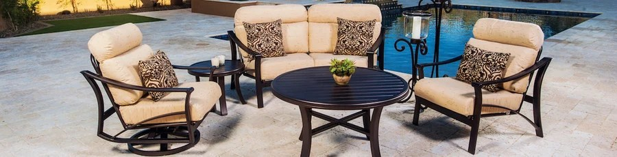 tropitone aluminum patio furniture is