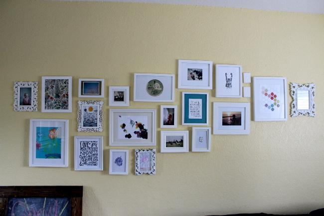 5 frame wall