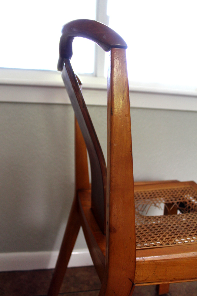 Broken Chair Bent Wood