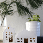 DIY Clay Houses