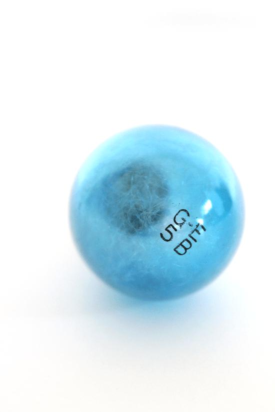 vintage blue bulb