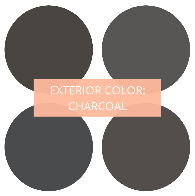 Exterior paint color charcoal turning it home - Test exterior paint colors online ...