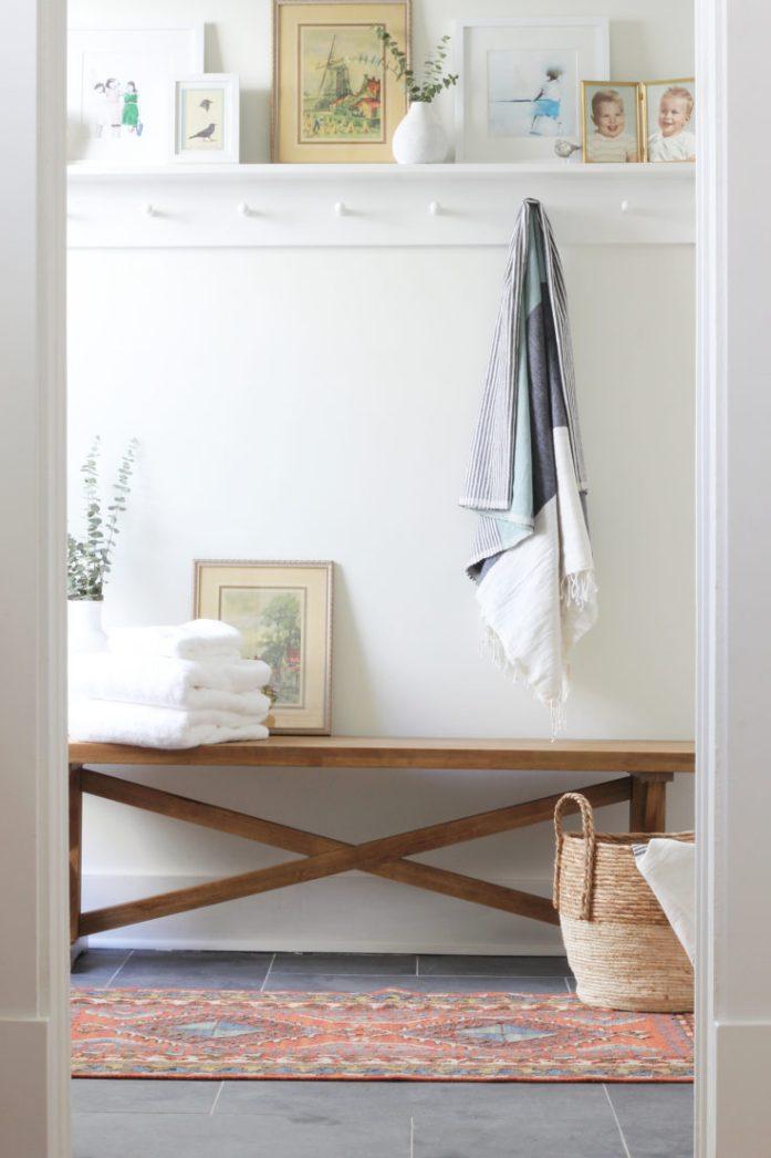 towel coat rack