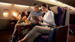 Malaysian airlines A380 business class seat