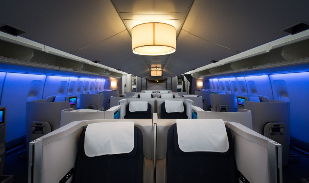 British airways B747 super high J review