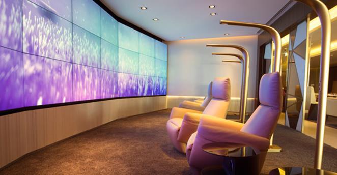 Etihad paid access First Class lounge