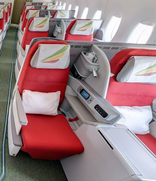 Ethiopian A350 business class