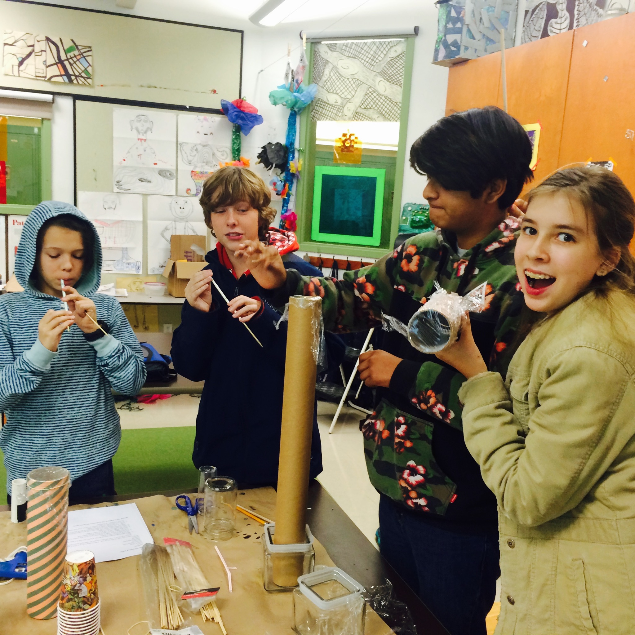Science Elective Class Middle School