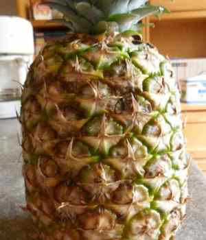 How to Cut Fresh Pineapple