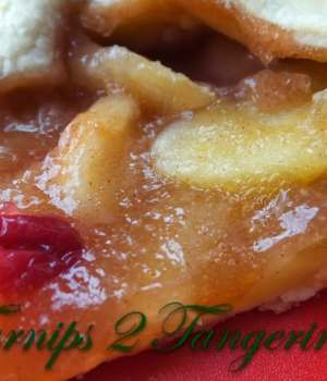 Apple Orange Cranberry Crostata