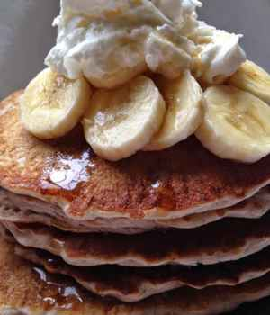 Buckwheat Sourdough Pancakes, 70's Cereal