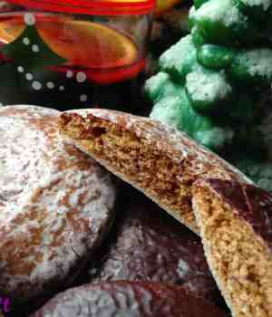 Lebkuchen Cookies or Gingerbread Cookies