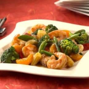 Mandarin Shrimp Stir Fry
