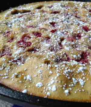 Cherry Peach Clafoutis