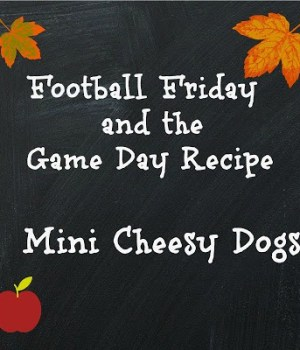 Mini Cheesy Dogs