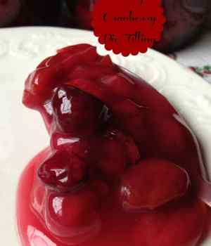Cherry Cranberry Pie Filling