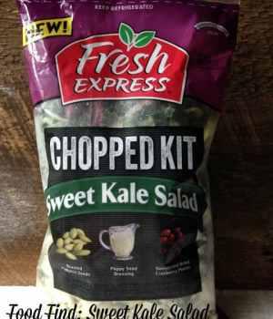 Food Find: Sweet Kale Salad Kit