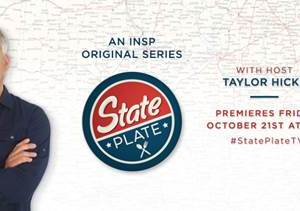 State Plate with Host Taylor Hicks