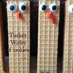 Turkey Wafer Cookies
