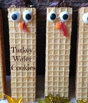 Turkey Wafer Cookies