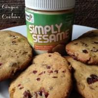Pistachio Cranberry Ginger Cookies