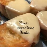 Classic Swiss Cheese Fondue