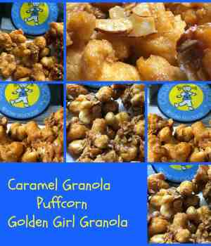 Caramel Granola Puffcorn Golden Girl