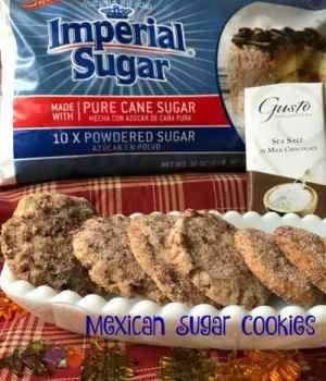 Polvorones Mexican Sugar Cookies #Choctoberfest
