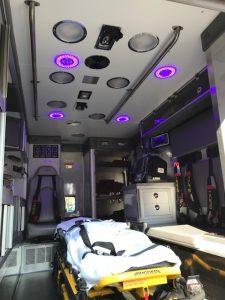 Blue Light Patient Compartment