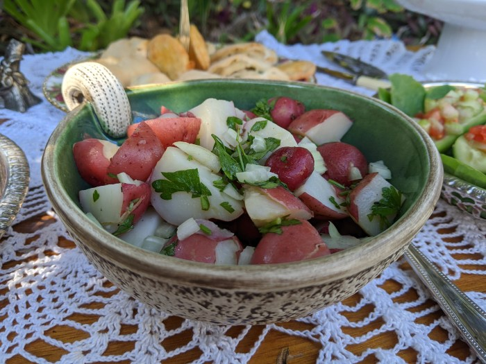 Potato salad, recipe from 1937