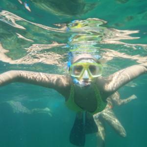 Snorkelling in Varadero, Cuba