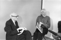 Philip Johnson and Charles Henri Ford (1975)